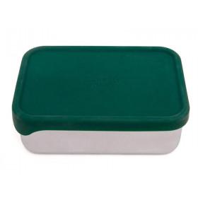 Petit Monkey Lunchbox aus Edelstahl RILEY pine green