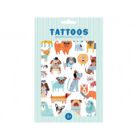 Petit Monkey Tattoos HUNDE