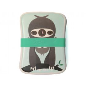 Petit Monkey Bambus Lunchbox FAULTIER grün