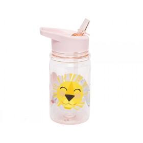 Petit Monkey Trinkflasche LÖWE & FREUNDE rosa