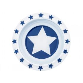 Pimpalou Anti-Rutsch Schale STERN blau