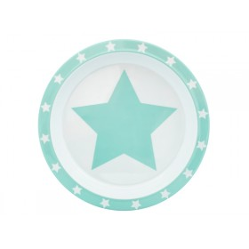 Pimpalou Anti-Rutsch Teller STERN mint