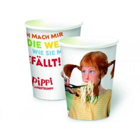 Pippi Langstrumpf Pappbecher