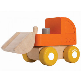 Plantoys Fahrzeug aus Holz MINI BULLDOZER