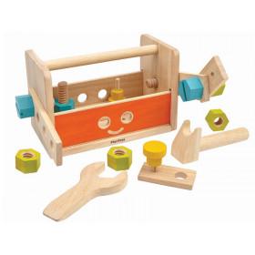 PlanToys Werkzeugkasten ROBOTER