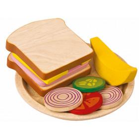 Plantoys Sandwich Mahlzeit