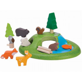 PlanToys Holz-Spielset TIERE