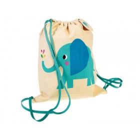 Rex London Drawstring Turnbeutel ELEFANT