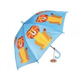 Rex London Kinder-Regenschirm Löwe