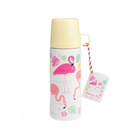 Rex London Thermosflasche Flamingo