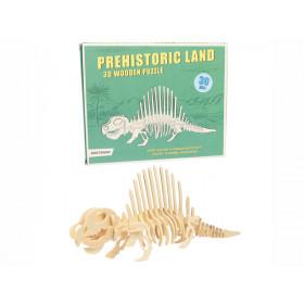 Rex London 3D Dinosaurier Holzpuzzle DIMETRODON