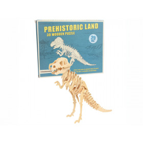 Rex London 3D Dinosaurier Holzpuzzle TYRANNOSAURUS