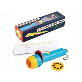 Rex London Projektions-Taschenlampe WELTRAUM