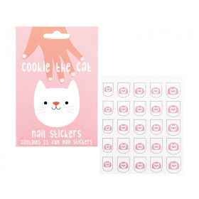 Rex London Nagel-Sticker COOKIE DIE KATZE