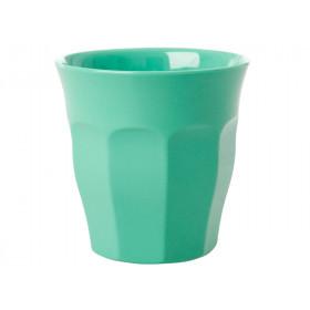RICE Melamin Becher Smaragdgrün
