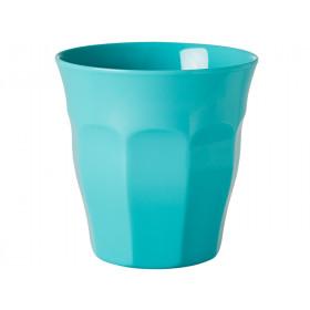RICE Becher Melamin aqua