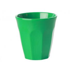 RICE Melamin Espresso Becher waldgrün