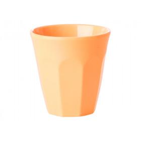 RICE Melamin Espresso Becher apricot