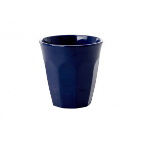 RICE Melamin Espresso Becher Mitternachtsblau