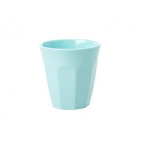 RICE Melamin Espresso Becher Eisblau