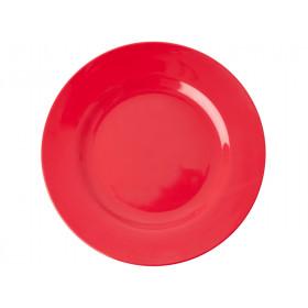 RICE Großer Melamin Teller Red Kiss