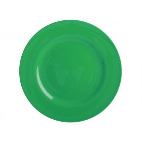 RICE Großer Melamin Teller waldgrün