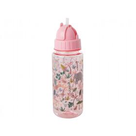 RICE Kindertrinkflasche DSCHUNGEL PINK