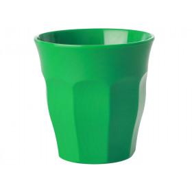 RICE Kleine Melamin Becher waldgrün