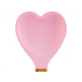 RICE Küchenspatel Herz hellrosa