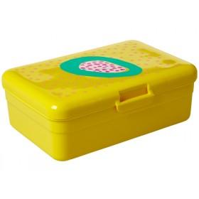 RICE Lunchbox Früchte GELB