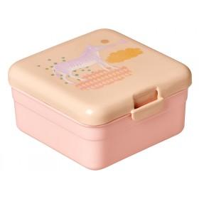 Kleine RICE Lunchbox Tiermotiv Mädchen