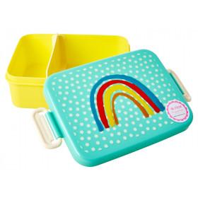 RICE Lunchbox REGENBOGEN L