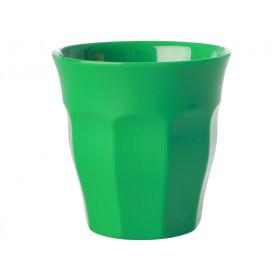 RICE Melamin Becher waldgrün