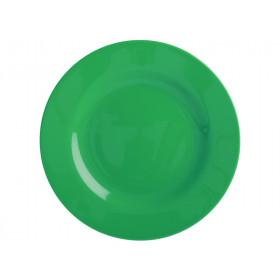 RICE Kleiner Melamin Teller waldgrün