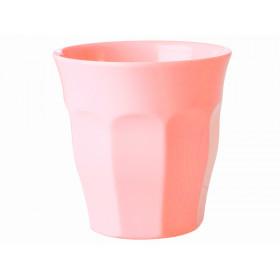 RICE Melamin Becher pastell-rosa
