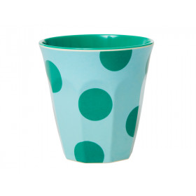 RICE Becher MINT With Green Dots