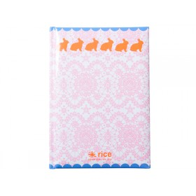 RICE Notizbuch Hase A5