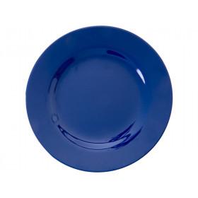 RICE Kleiner Melamin Teller NAVY BLUE