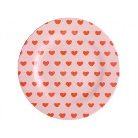 RICE Melaminteller SWEET HEARTS
