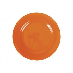 Kleiner RICE Teller in orange