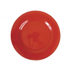 Kleiner RICE Teller in rot