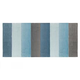 Sebra Gewebter Teppich - wolkenblau