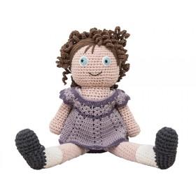 Sebra Häkel Puppe Iris