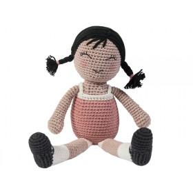 Sebra Häkel Puppe Li
