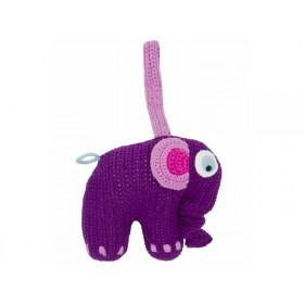 Sebra Spieluhr Elefant violett