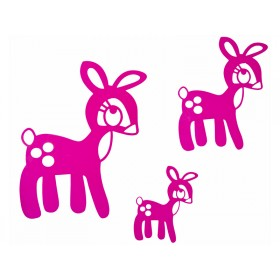 Sebra Wandsticker Bambi