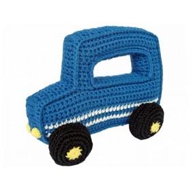 Sindibaba Geländewagen gehäkelt blau