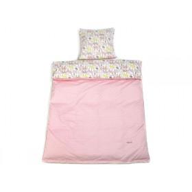 Smallstuff Bettwäsche Tiere rosa