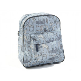 Smallstuff Rucksack TIERE blau