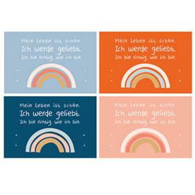 Sonntagskinder Postkarten-Set REGENBOGEN